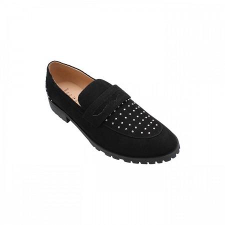 Reeva Penny Loafers RV-SM-0404-Black
