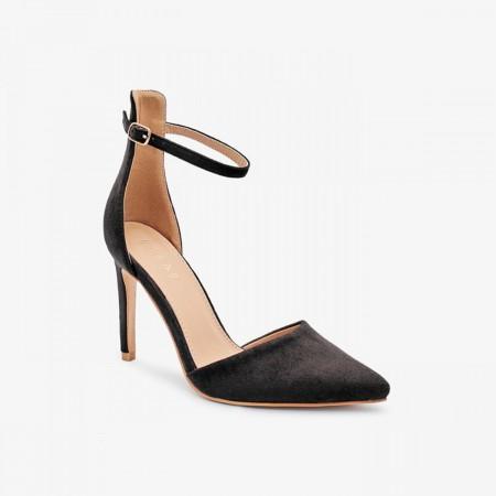 Reeva Pointed Toe Heels RV-SD-0466-BLACK