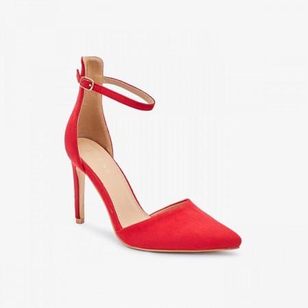 Reeva Pointed Toe Heels RV-SD-0466-RED