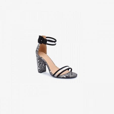 Reeva Women Block Heels RV-SD-0465-BLACK