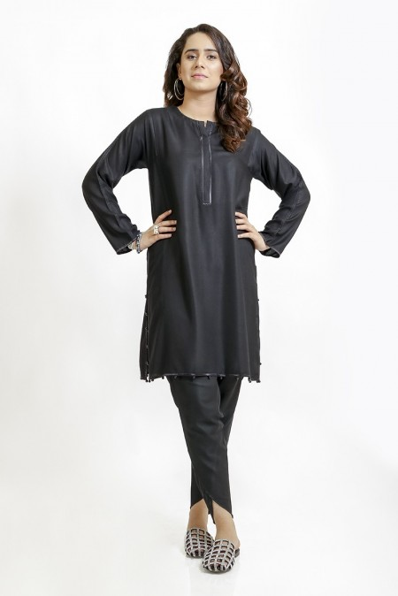 Ego Monochrome Collection Absolute - 2 piece Kurta and Tulip Shalwar