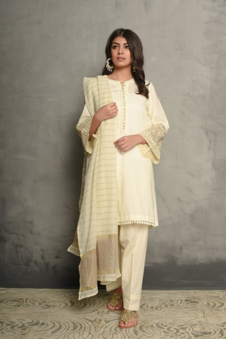 Ethnic by Outfitters Boutique suit(Shirt + Dupatta) WTB291706-10201815-EH-027