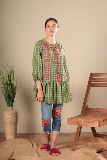 Ethnic by Outfitters Fusion Kurti WTB391463-10213950-AS-103