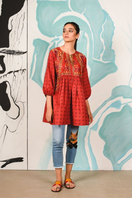 Ethnic by Outfitters Fusion Kurti WTC391158-10217338-AS-007