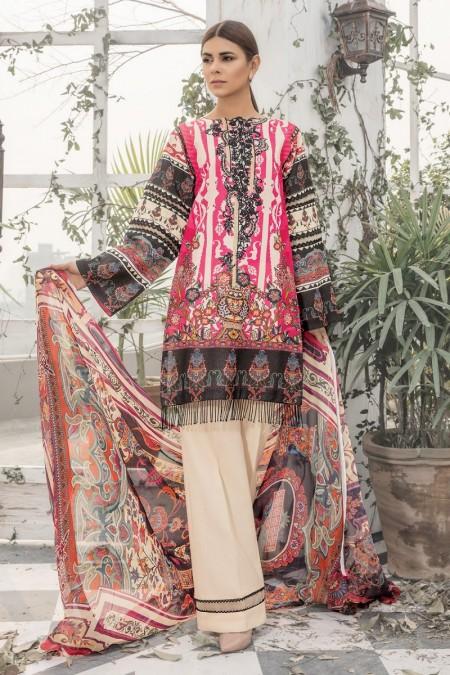 Firdous Clothing Lawn Karandi'19 19-LK-02A