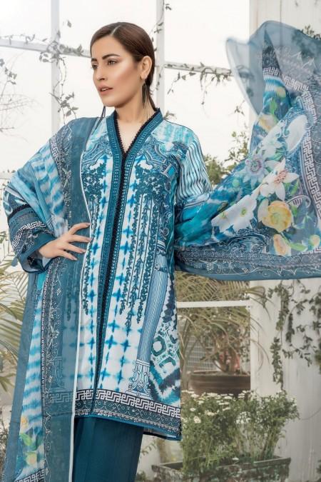 Firdous Clothing Lawn Karandi'19 19-LK-07A