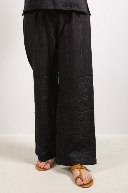 Generation Fusion Antique French Embroidery Trousers S19929T