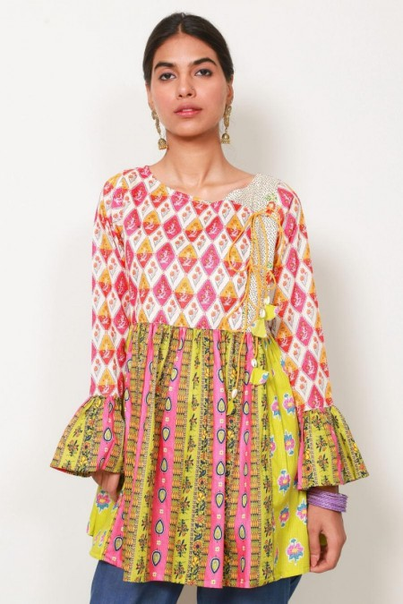 Generation Indian Gypsy Angrakha Tunic W19910T