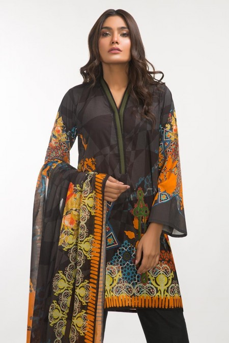 Gul Ahmed 3 PC Lawn Outfit IPS-19-104