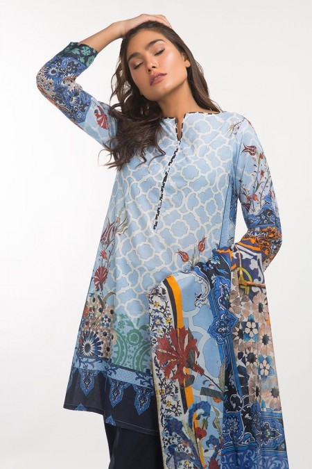 Gul Ahmed 3 PC Lawn Outfit IPS-19-106