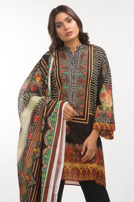 Gul Ahmed 3 PC Lawn Outfit IPS-19-108