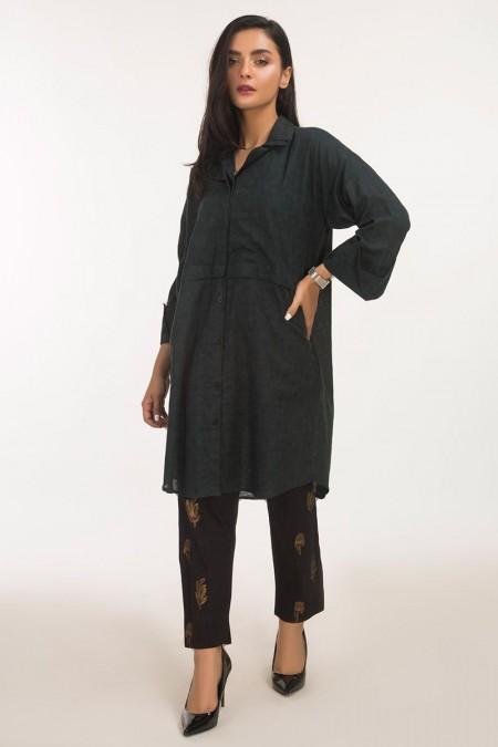 Gul Ahmed Jacquard Shirt GLS-19-98