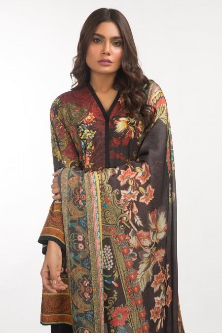 Gul Ahmed Lawn 3 PC Outfit IPS-19-116 DP