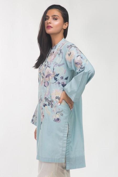 Gul Ahmed Lawn Shirt GLS-19-206