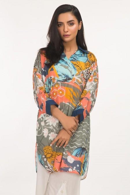 Gul Ahmed Lawn Shirt GLS2-19-185 DP