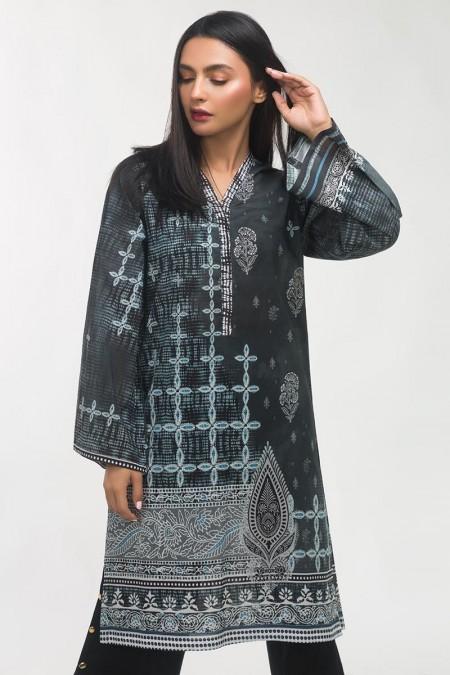 Gul Ahmed Printed Lawn Shirt GLS-19-276