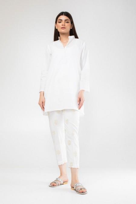 Khaadi Formal Pants WFBV19203-White