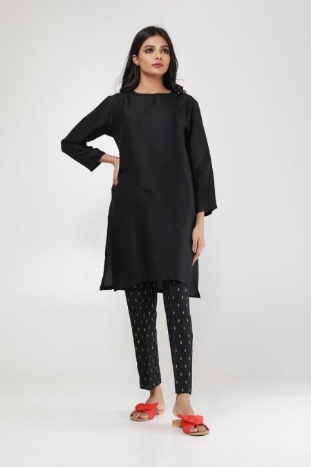 Khaadi Formal Pants WFBV19205-Black