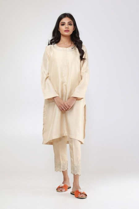 Khaadi Formal Pants WFP19203-Beige
