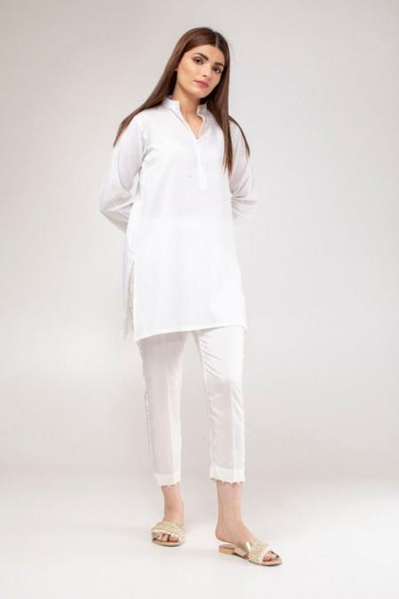 Khaadi Formal Pants WFP19209-White