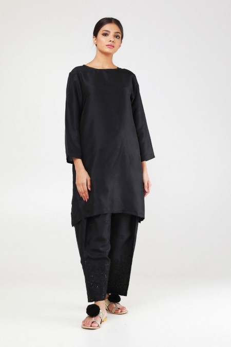Khaadi Formal Shalwar WFSH19201-Black