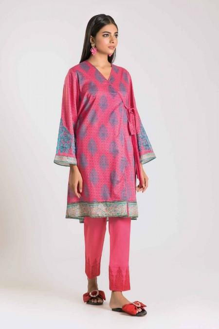 Khaadi Shirt Shalwar N19412-Pink-2Pc