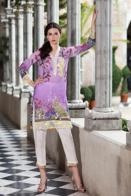 So Kamal DPF18 461 Shirt Embroidered 1 Pc