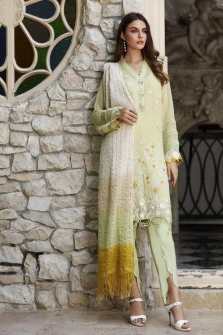 So Kamal DPL19 175 Suit Chiffon 3 Pc