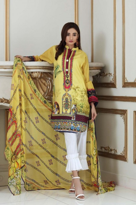 So Kamal DPL19-313 Suit Printed 2 Pc