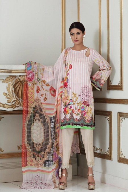 So Kamal DPL19-314 Suit Printed 2 Pc