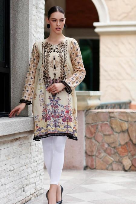 So Kamal DPL19 496 Shirt Embroidered 1 Pc