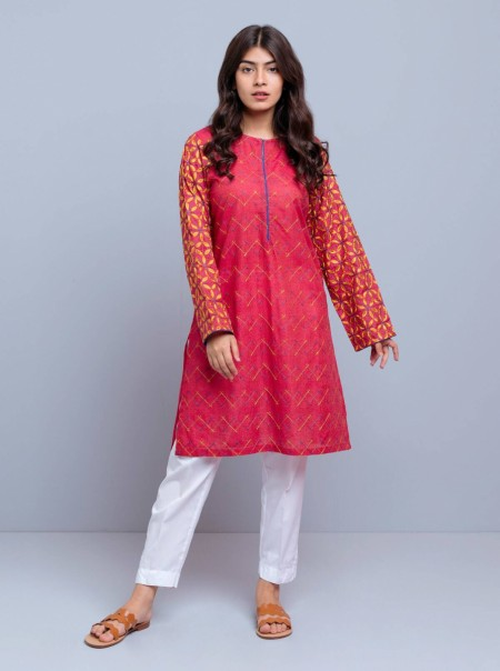 BeechTree Embroidered Shirt BTW19-MK-48-Red