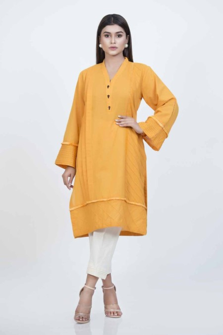 Bonanza Satrangi Orange-Khaddar-kurti-BMSK91P012-ORANGE