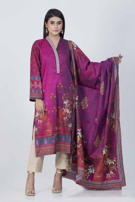 Bonanza Satrangi Pink-Cambric-SuitBSSK93P035-PINK