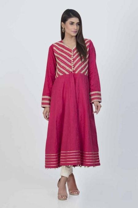 Bonanza Satrangi Pink-Dobby-kurti-BSSK91P017-PINK