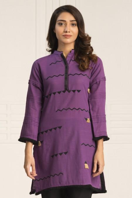 By The Way Dress Me Plum WRH0652-XSM-PRL