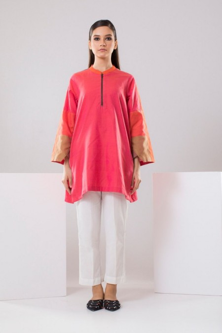 Chapter 2 Handwoven Pink Top C2THF19213-Pink