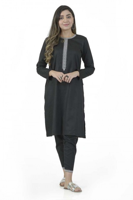 Ego Fall19 Collection Blackout 2 Piece (Kurta and Pants) EGN-022