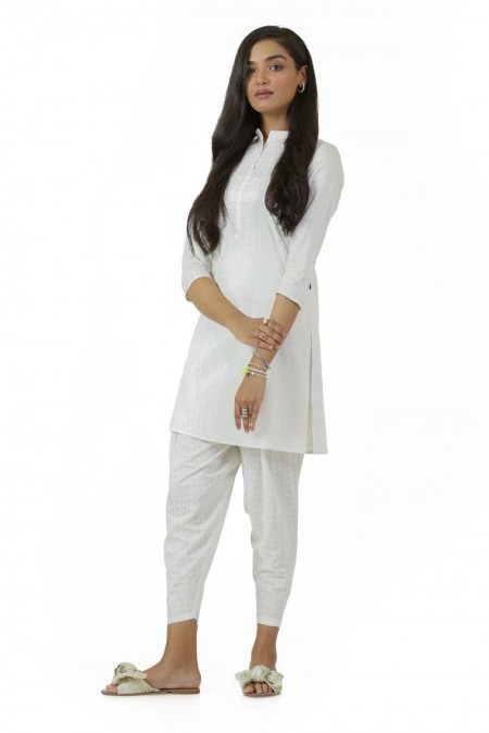 Ego Fall19 Collection Over n Under 2 Piece (Kurta and Shalwar) EGN-040