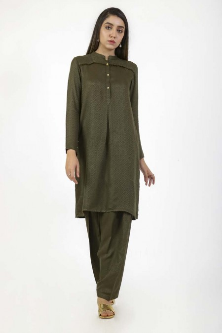 Ego Rhapsody2 Piece (Kurta and Shalwar)