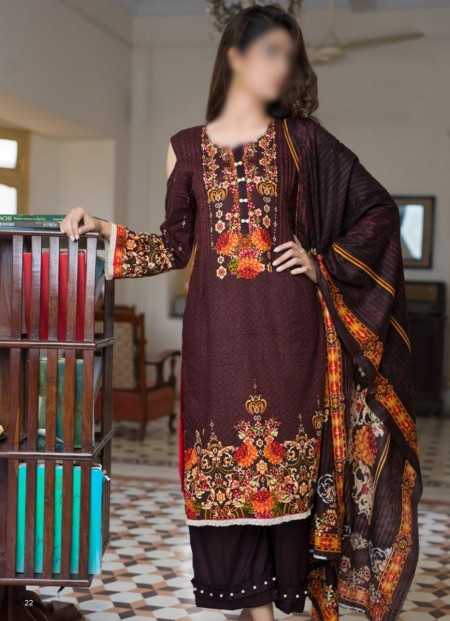 Firdous Clothing Resham Cambric Collection FRCC D-103 A