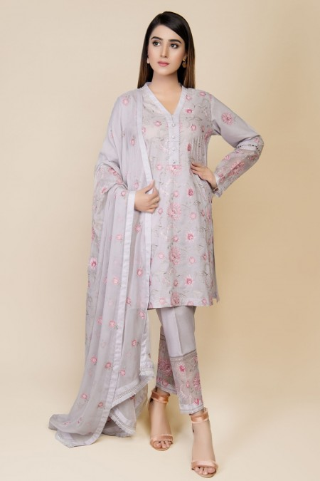 Kayseria DYED & EMBROIDERED 2PC SUIT KPN-014