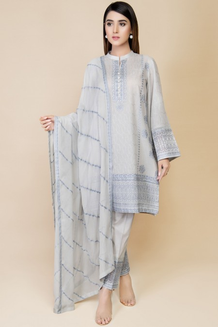 Kayseria DYED & EMBROIDERED 2PC SUIT KPN-021