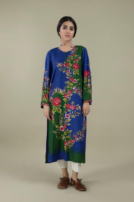 Kayseria Winter 19 READY TO WEAR Floral DesignKPN-262