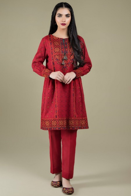 Kayseria Winter 19 Unstitched Collection Printed ShirtKPN-193