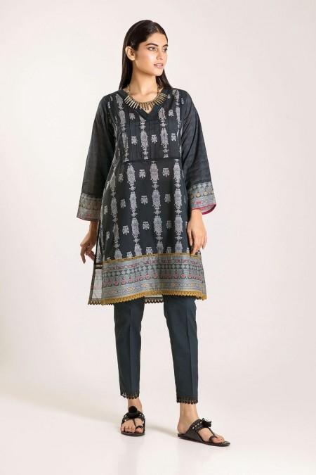 Khaadi Shirt Shalwar CJ19503-Black-2Pc