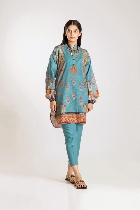 Khaadi Shirt Shalwar KJ19502-Green-2Pc
