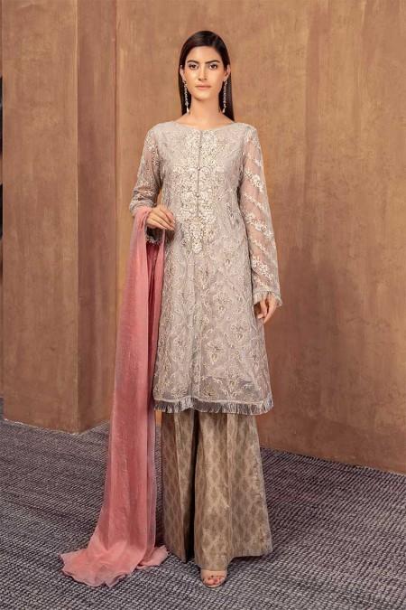 Maria.B Suit Grey DW-W19-14