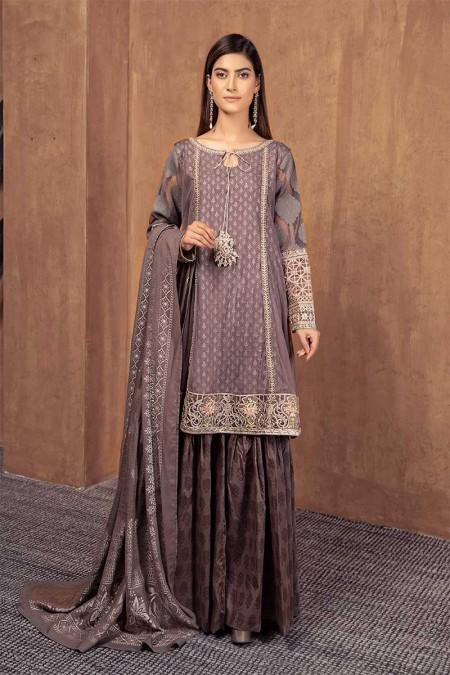 Maria.B Suit Grey DW-W19-16