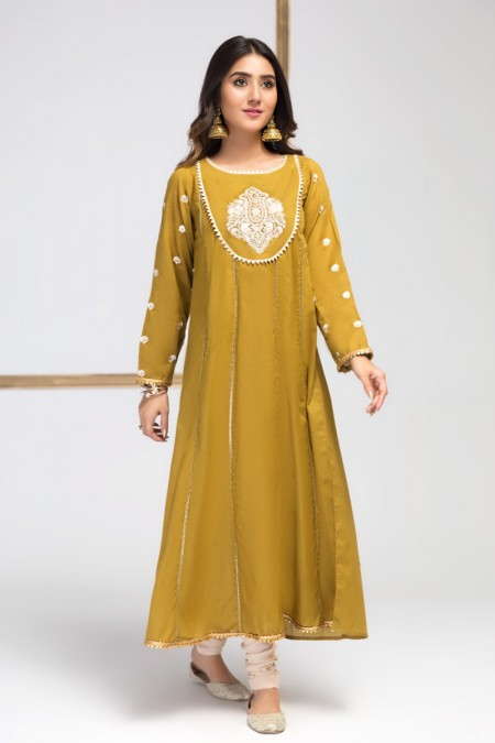 Origins Moon Shine (Embroidered Frock )